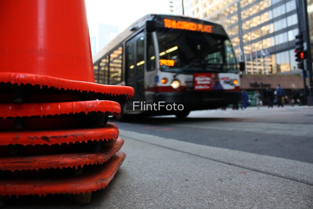 Caution by FlintFoto