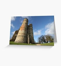Donnington Castle Greeting Card