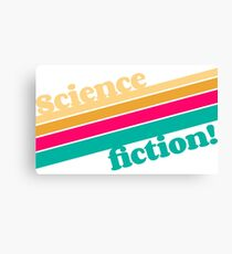 Science Fiction Rocks! Canvas Print