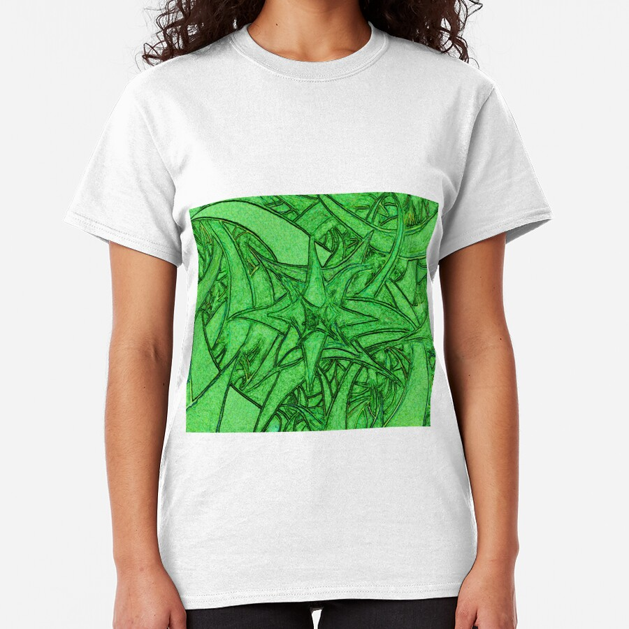 Unknown Internal Vision [Abstract #53] GREEN Classic T-Shirt
