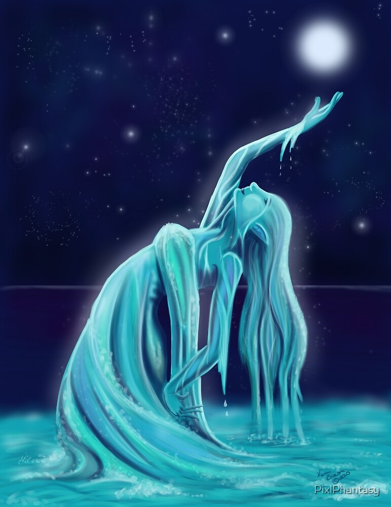 Water Spirit by PixlPhantasy