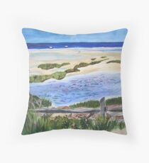 Paines Creek, Brewster MA Throw Pillow