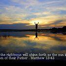 His Glory shines like the sun by paintin4him