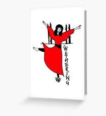 Tarjeta de felicitación Kate Bush Cumbres borrascosas