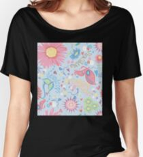 dewdrops in the garden Women's Relaxed Fit T-Shirt