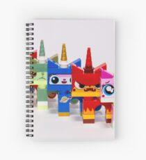 Cute-six-kitty Spiral Notebook