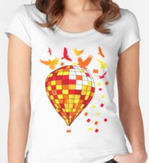 baloon Women's Fitted Scoop T-Shirt