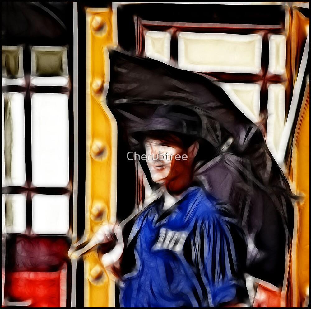 Singing in the Rain: Fractalius by Cherubtree