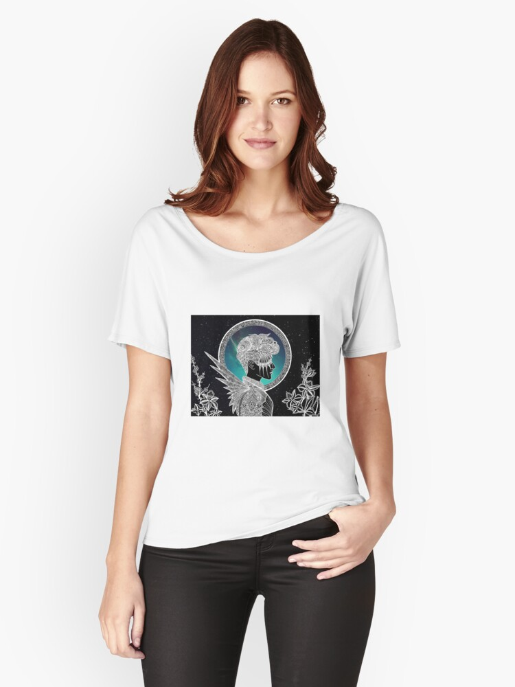 distances II Women's Relaxed Fit T-Shirt Front