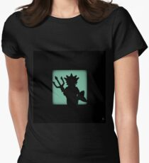 Shadow - Ocean King Womens Fitted T-Shirt