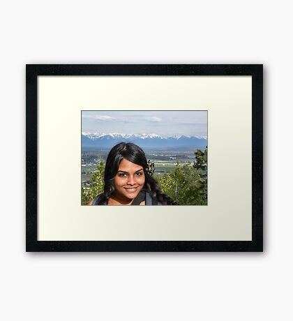 Spring Beauty Framed Print