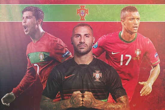 Portugal National Soccer Team Poster Design by NPDesigns