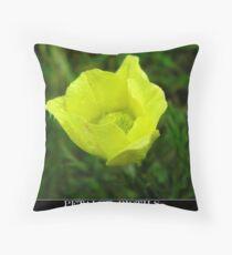 petals & pistils Throw Pillow