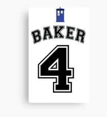 MY Doctor is Tom Baker Canvas Print
