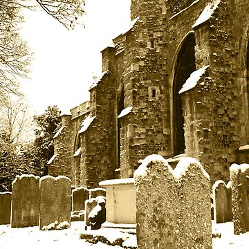 All Saints in Sepia by RWTA