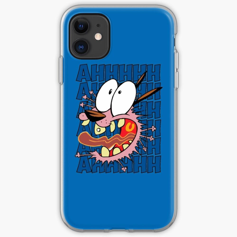 Mut Der feige Hund - AHHHHH! iPhone-Hülle & Cover