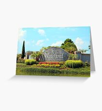 Waterford Village Greeting Card