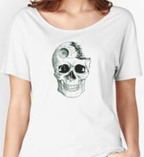 Imperial Death Star Skull Women's Relaxed Fit T-Shirt