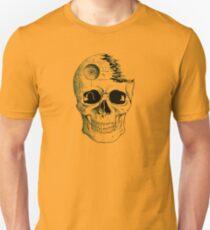 Imperial Death Star Skull Unisex T-Shirt