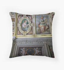 ceiling - italy Throw Pillow