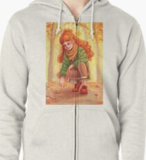 At Peace Zipped Hoodie