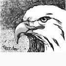 Eagle ScribbleTee by Patricia Anne McCarty-Tamayo
