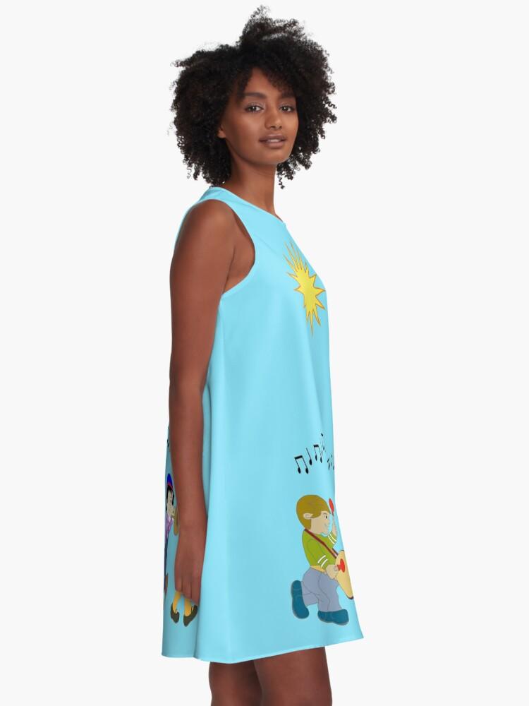 Alternate view of DAPHNE Womens A-Line Dress A-Line Dress