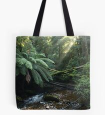 Nelson Falls , Tasmania , Peacefully Tote Bag