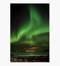 Northern lights - aurora borealis - Iceland Photographic Print