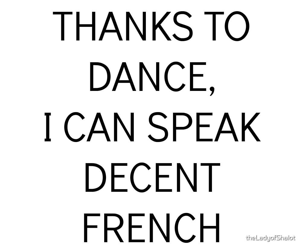 ENGLISH DANCE  by theLadyofShalot