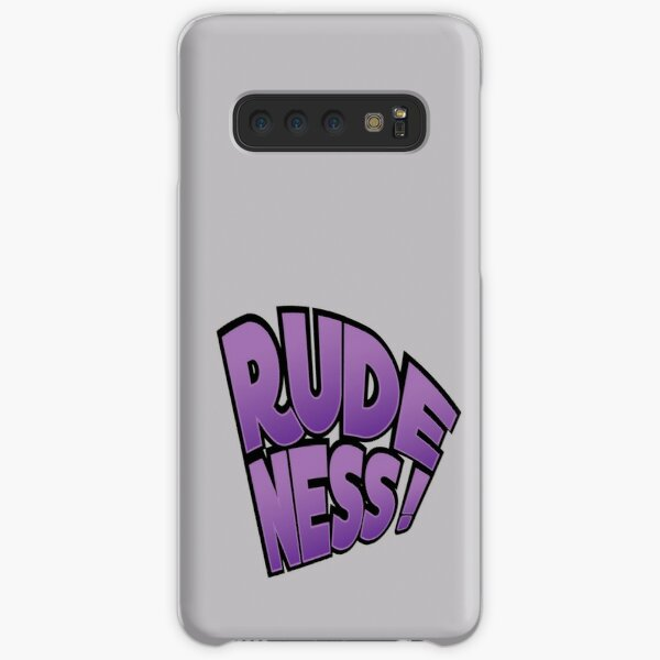 Rudeness Logo Samsung Galaxy Snap Case