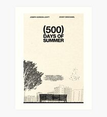 (500) Days of Summer Kunstdruck
