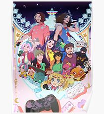 Game Grumps Wonderland Poster