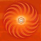 Sacral Chakra ~ Orange ~ Svadisthana ~ Male by JuliaKHarwood