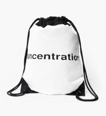 concentration Drawstring Bag