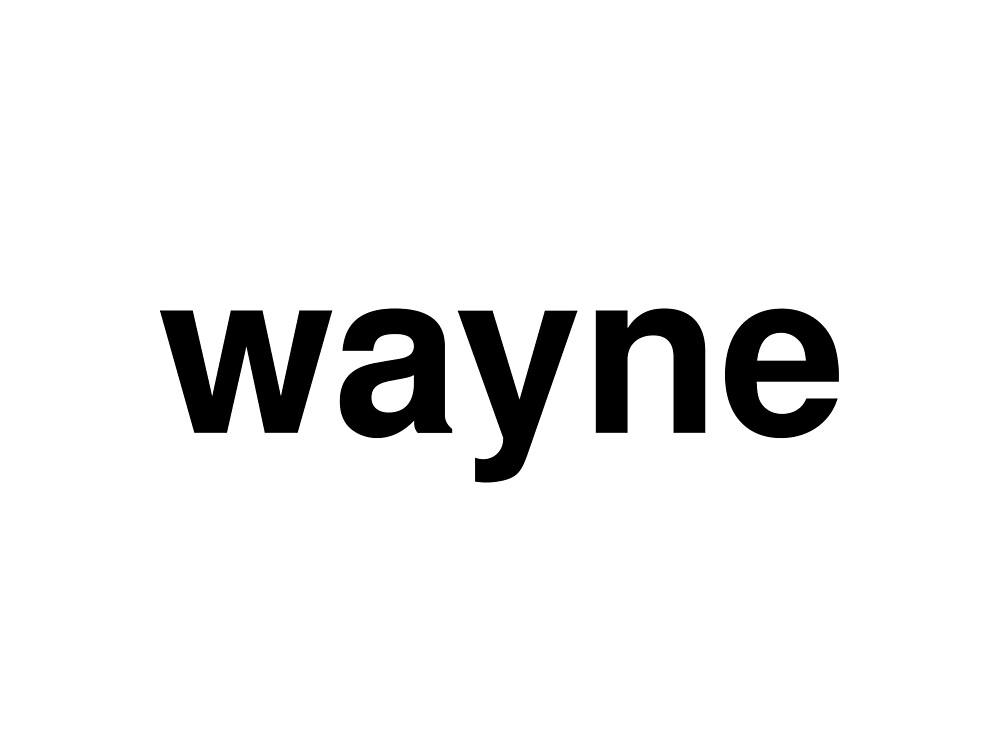 wayne by ninov94