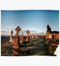 Celtic Cross, Lahinch, County Clare, Ireland Poster