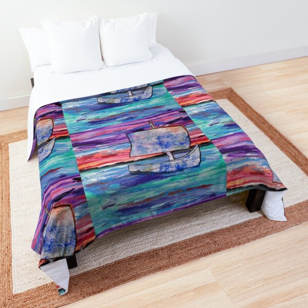 Sunset Sail Comforter