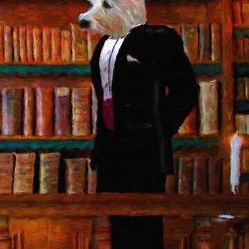 Portrait of a Gentleman Terrier by TelestaiPix