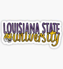 LSU Two Tone Sticker