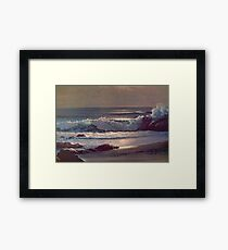 Ocean Waves  Framed Print