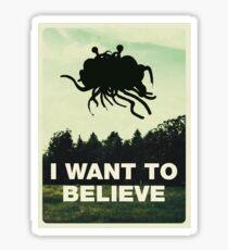 Flying Spaghetti Croire Sticker