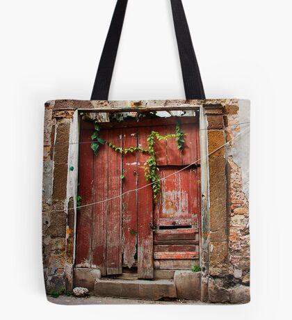 The Red Door Tote Bag