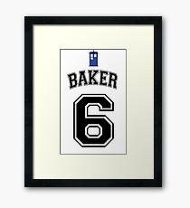 MY Doctor is Colin Baker Framed Print