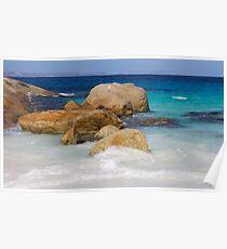 Little Beach Sea Spray Poster