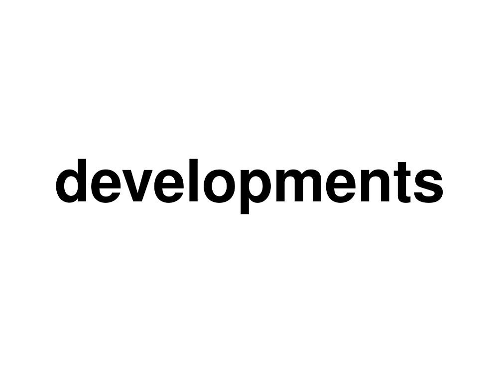 developments by ninov94