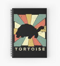 Classic Turtoise Lover Vintage Retro Animal Spiral Notebook