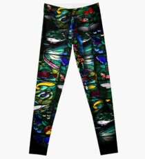 stained glass 2 Leggings