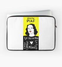 Edith Piaf Pop Folk Art Laptop Sleeve