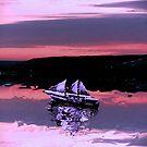 Sailing at Sunset by Ljartdesigns